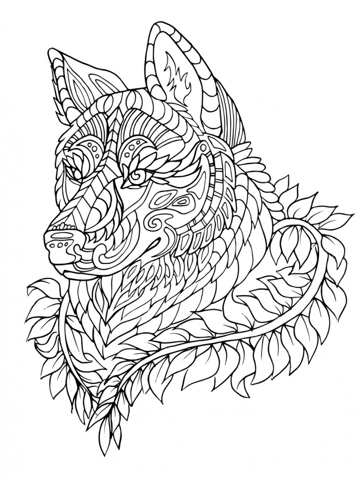 wolf coloring pages for adults wolf coloring pages for adults best coloring pages for kids pages wolf adults for coloring 1 1
