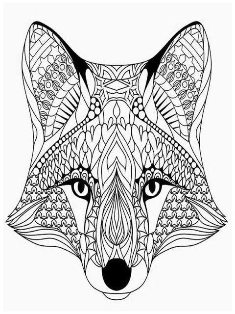 wolf coloring pages for adults wolf head complex patterns wolves adult coloring pages wolf pages coloring for adults