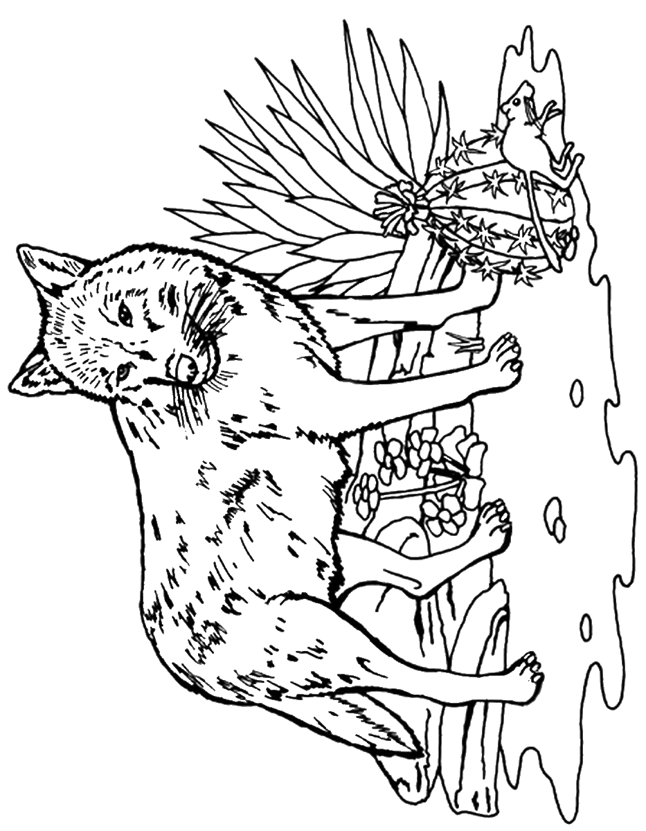 wolf pictures to colour wolf howling coloring page download print online colour pictures to wolf