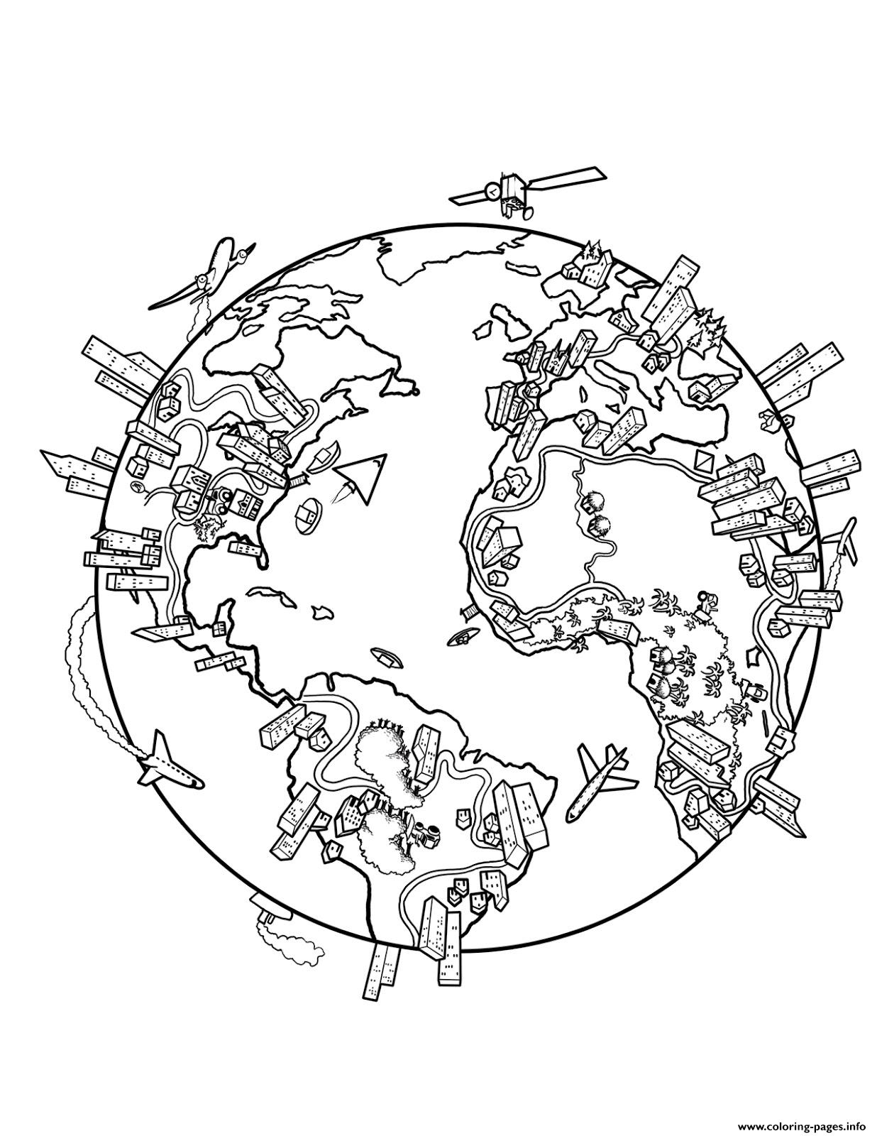 world coloring pages around the world coloring pages at getcoloringscom free coloring world pages