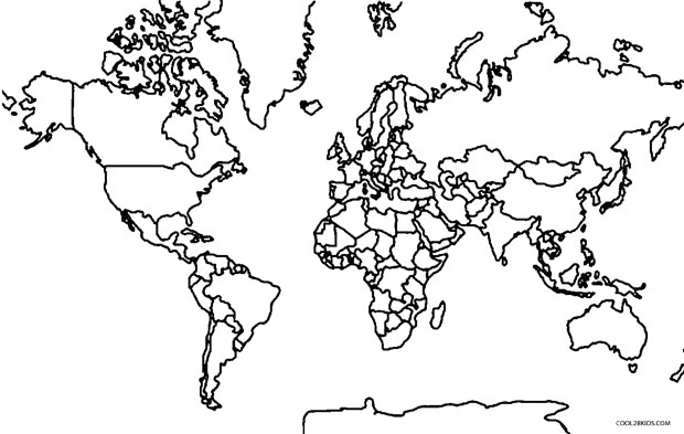 world coloring pages printable world map coloring page for kids world coloring pages 1 1