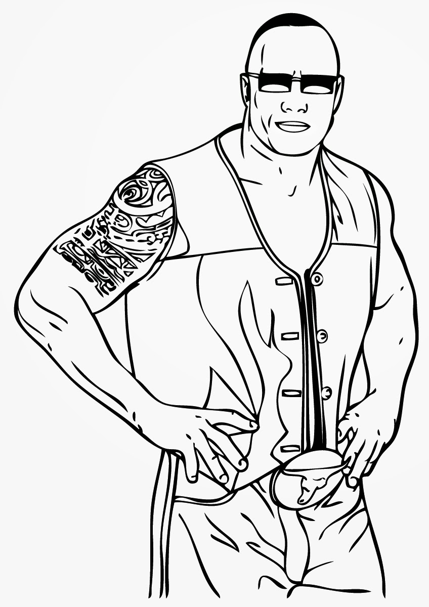 wrestling coloring pages free printable world wrestling entertainment or wwe pages coloring wrestling