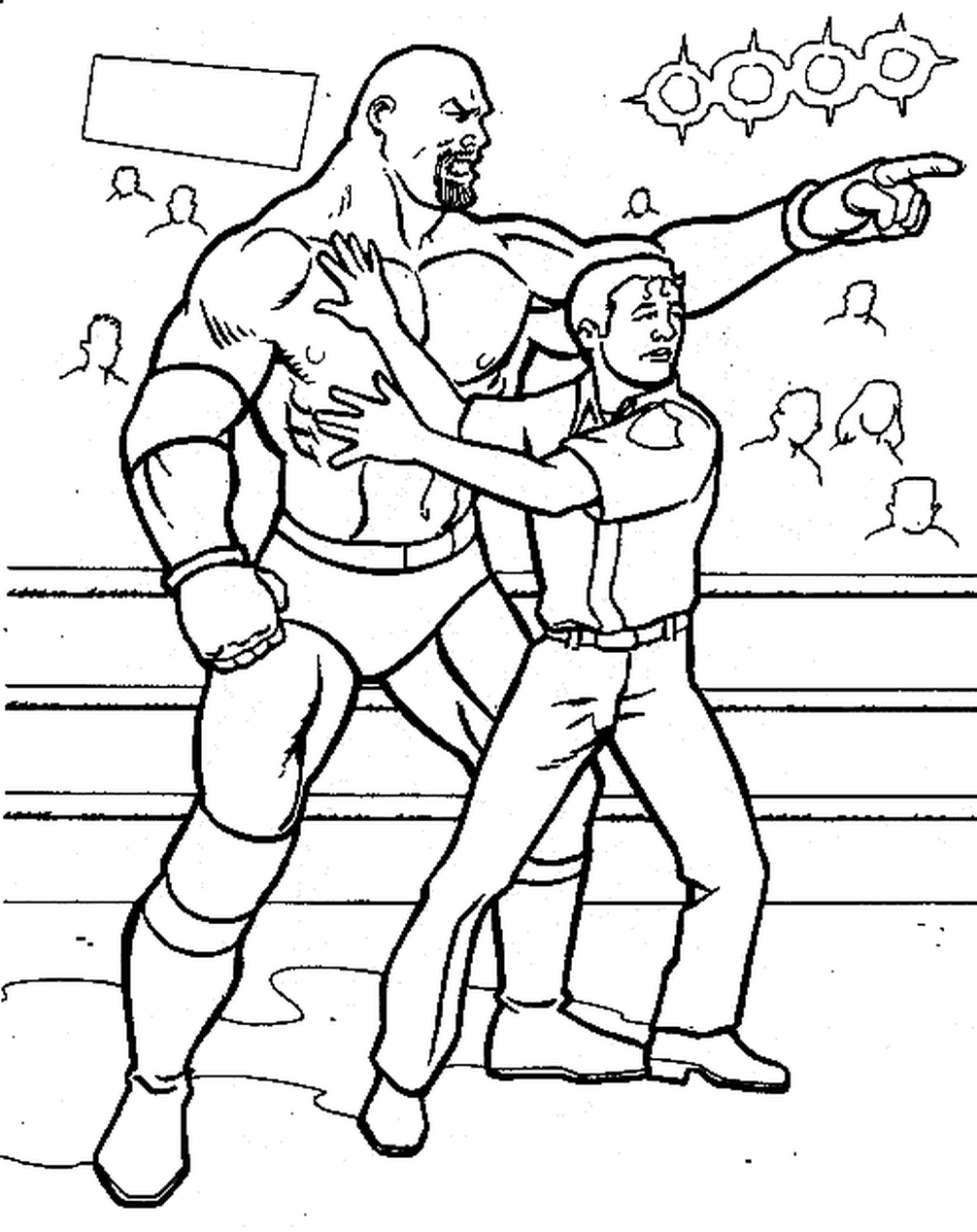 wrestling coloring pages the winner of wwe coloring page wrestling coloring pages