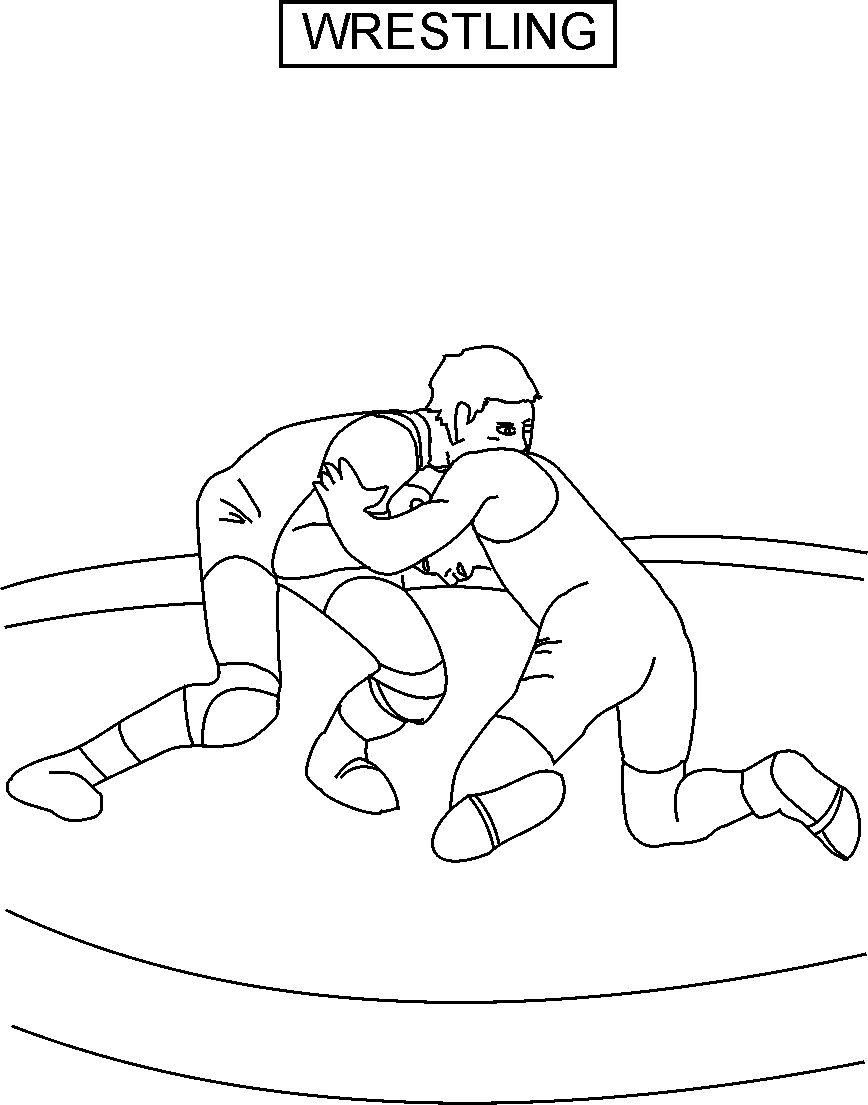 wrestling coloring pages wwe drawing games at getdrawings free download pages coloring wrestling