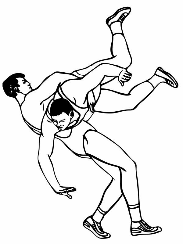 wrestling coloring pages wwe wrestler coloring pages coloring home wrestling coloring pages