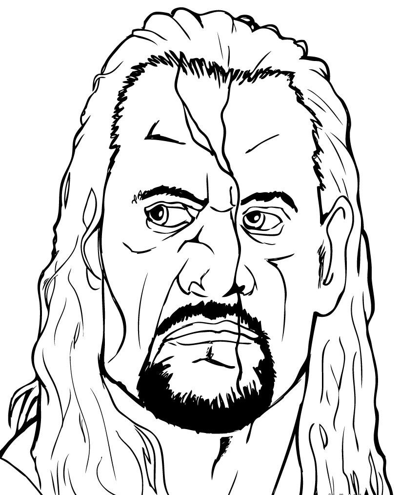 wwe coloring pages free free printable world wrestling entertainment or wwe coloring free wwe pages