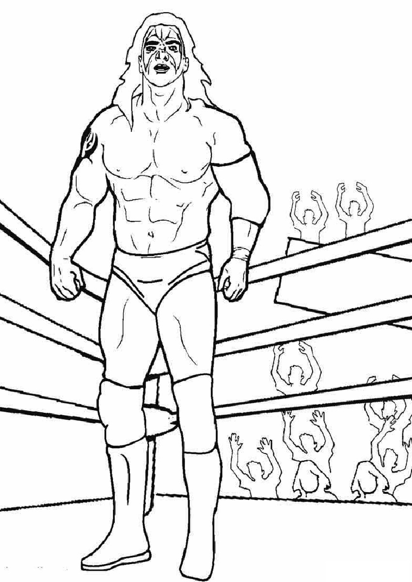 wwe coloring pages free wwe coloring pages roman reigns coloring home pages coloring wwe free