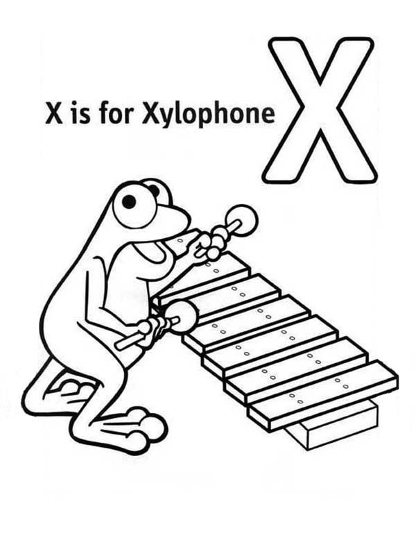 x is for xylophone coloring page capital letter x coloring for xylophone page coloring page for xylophone is coloring x page
