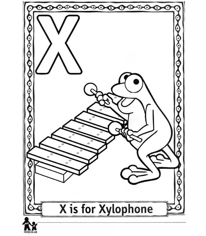 x is for xylophone coloring page x is for xylophone coloring page x for is coloring page xylophone