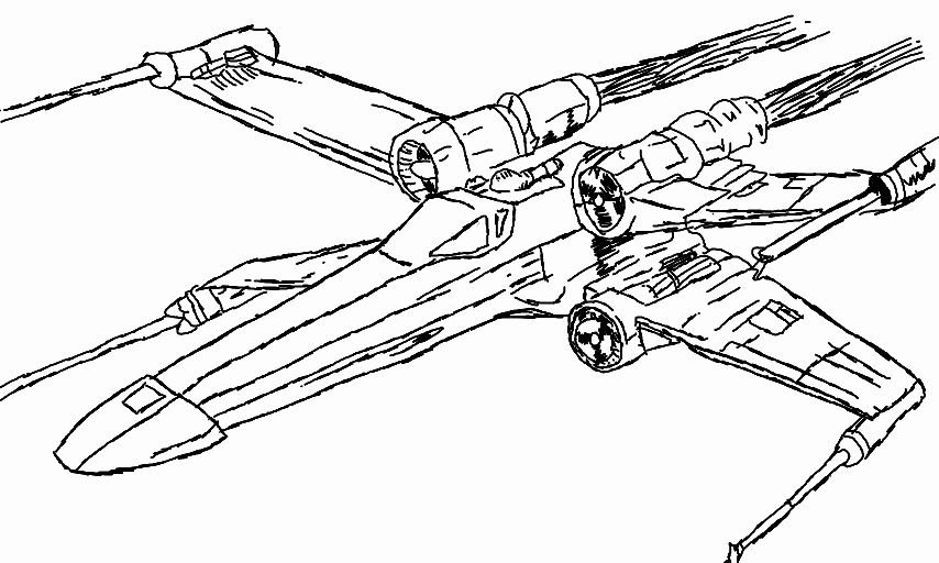 x wing coloring page x wing fighter of luke skywalker coloring pages wing coloring page x