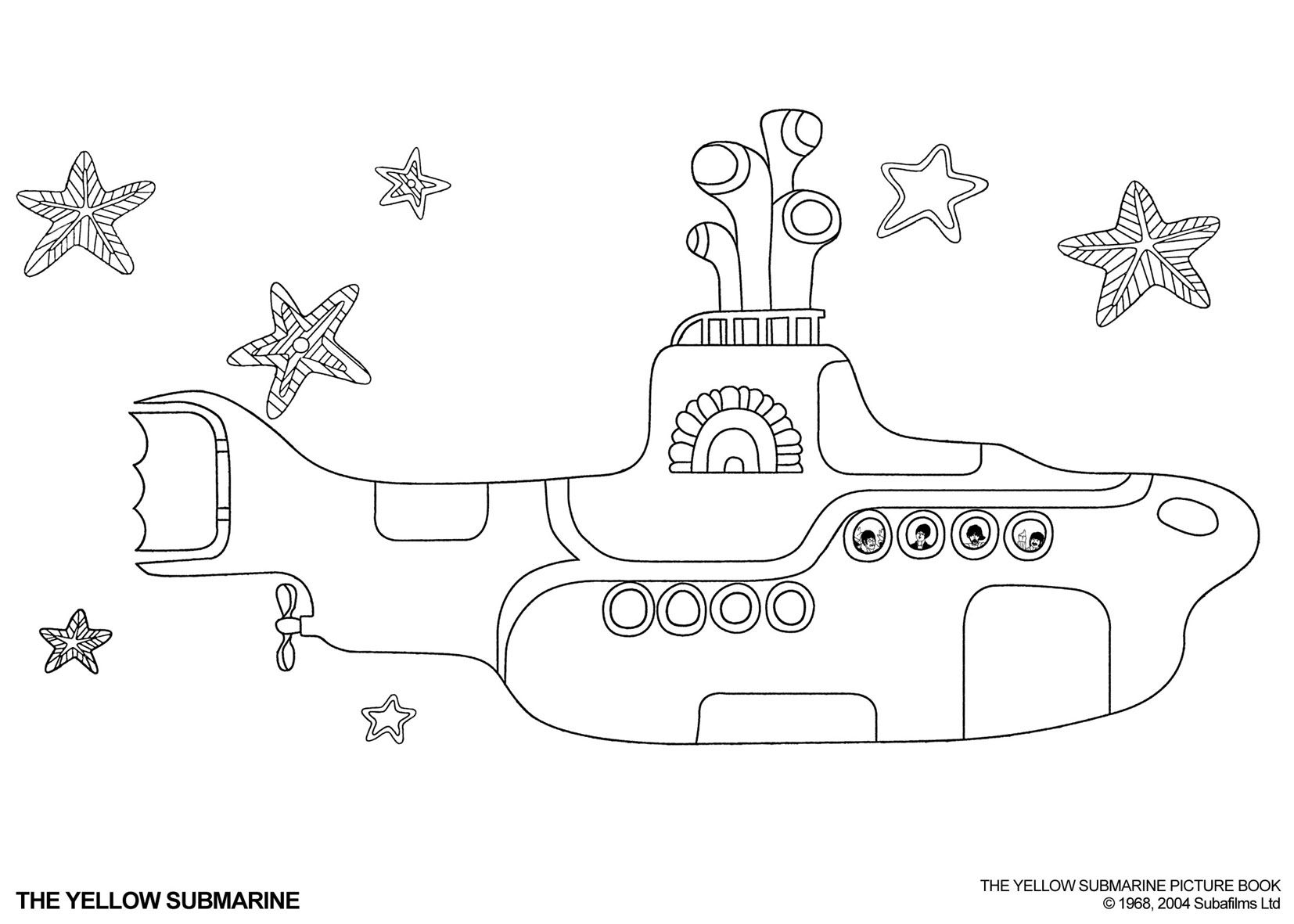 Yellow submarine pictures color
