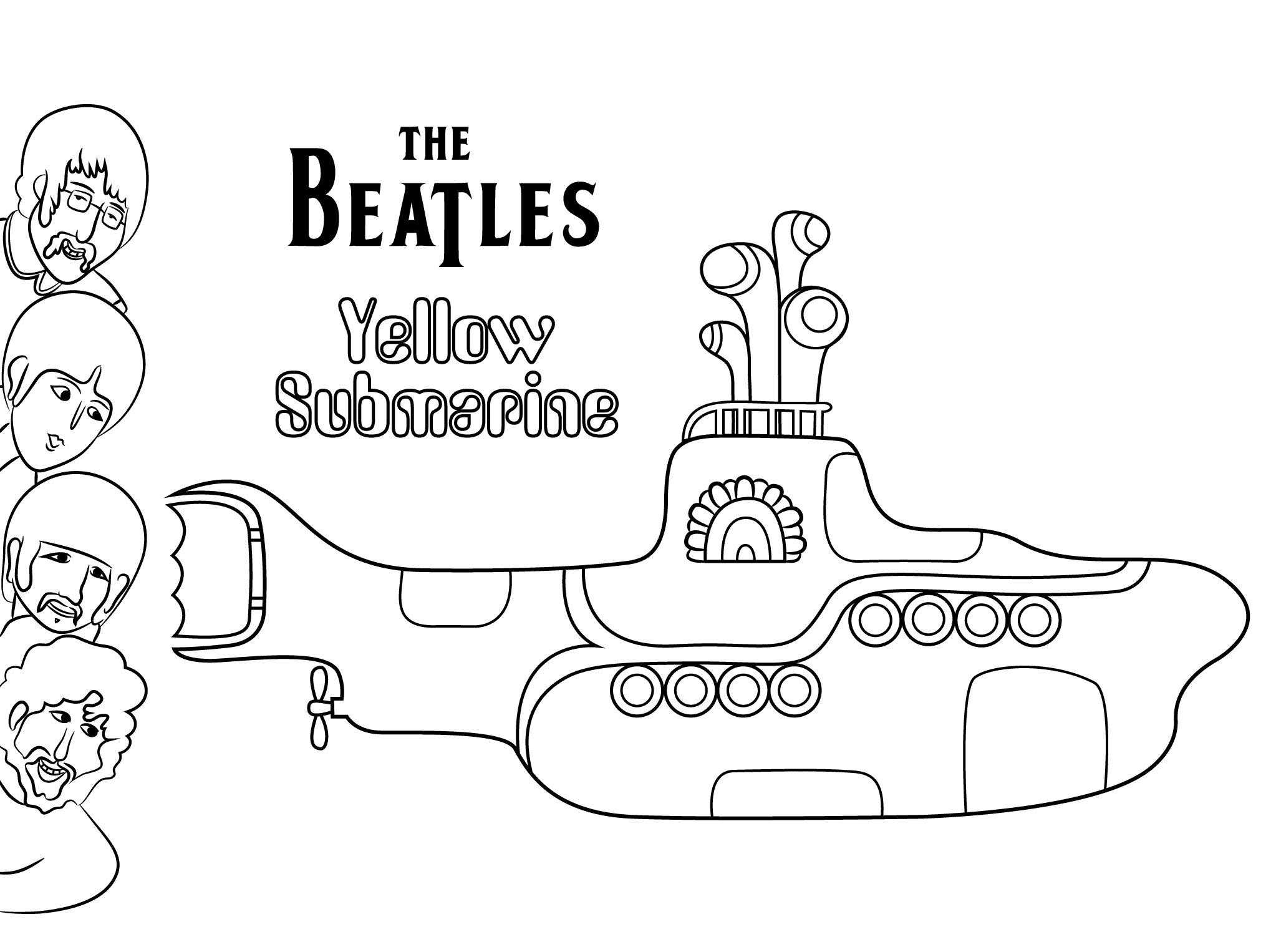 yellow submarine pictures color printable coloring pages coloring pages how to submarine yellow pictures color submarine
