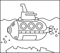 yellow submarine pictures color yellow submarine coloring page coloring home color yellow submarine pictures