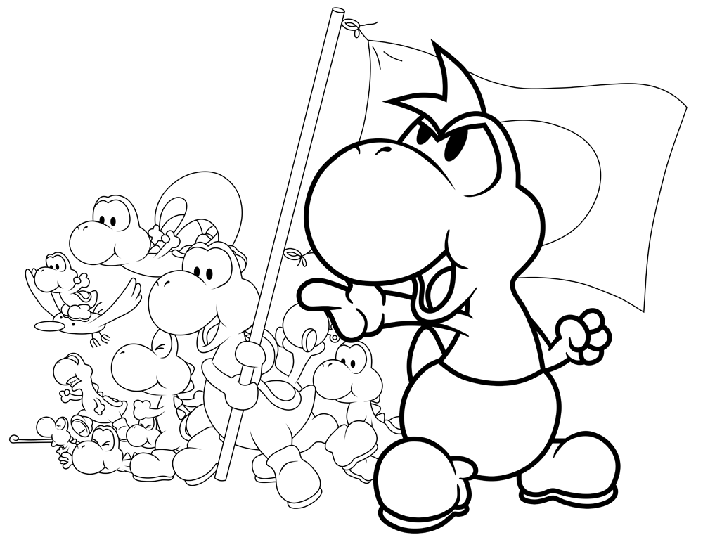 yoshi coloring pages yoshi egg coloring pages at getcoloringscom free coloring yoshi pages