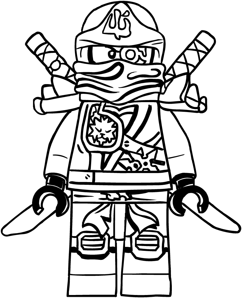 Zane coloring pages