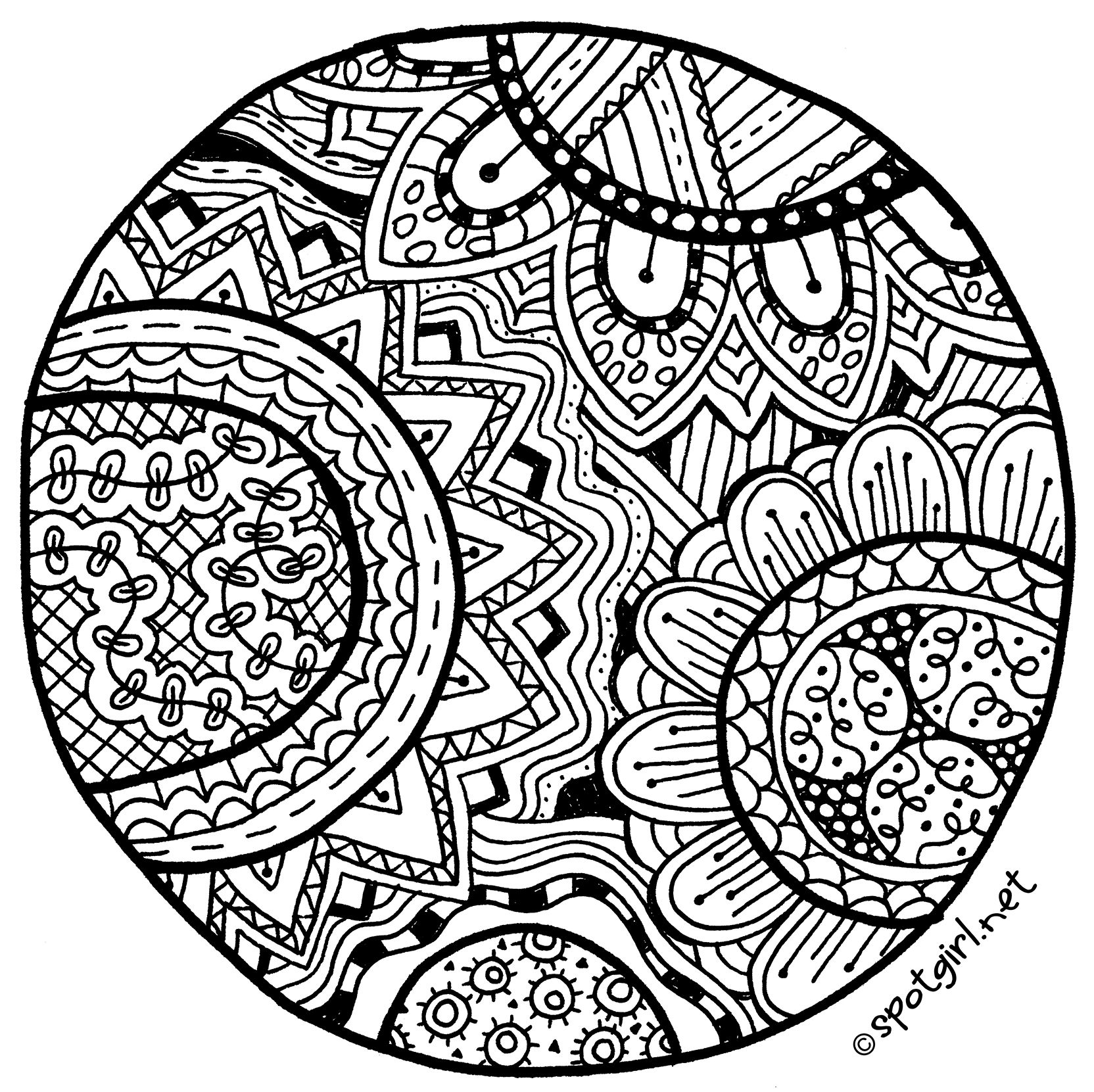 zentangle coloring pages free printable zentangle animal coloring pages at getcoloringscom free coloring free zentangle printable pages