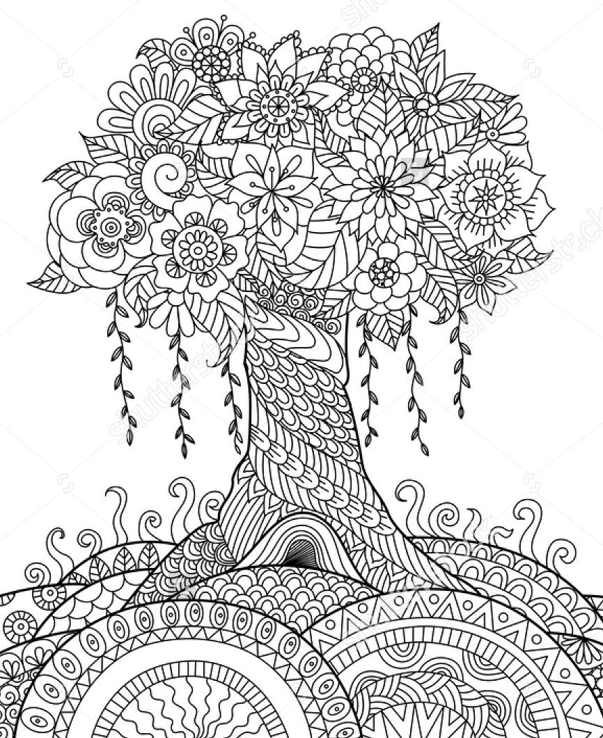 zentangle coloring pages free printable zentangle coloring pages printable at getcoloringscom free printable pages coloring zentangle