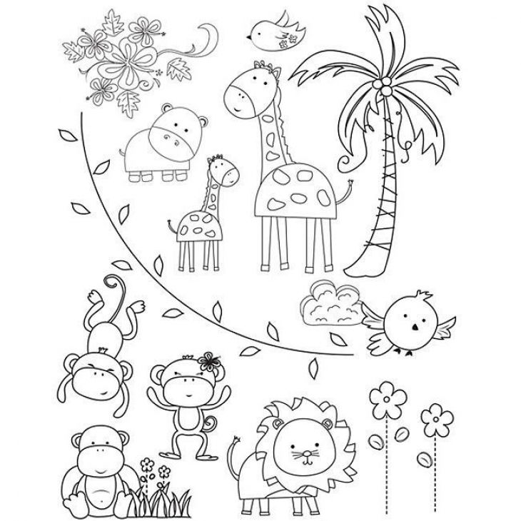 zoo coloring pictures for preschool coloring pages zoo animals preschool in 2020 zoo animal for pictures preschool zoo coloring