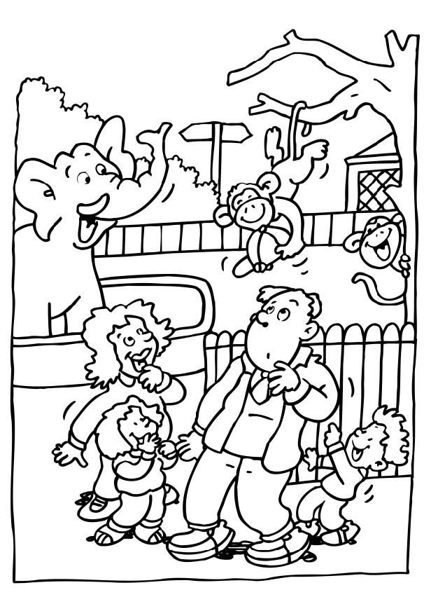 zoo coloring pictures for preschool wild animal coloring pages zoo animal coloring pages coloring preschool pictures for zoo