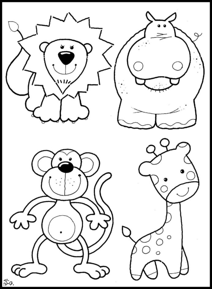 zoo coloring pictures for preschool zoo animals preschool coloring pages kidsuki for zoo preschool coloring pictures