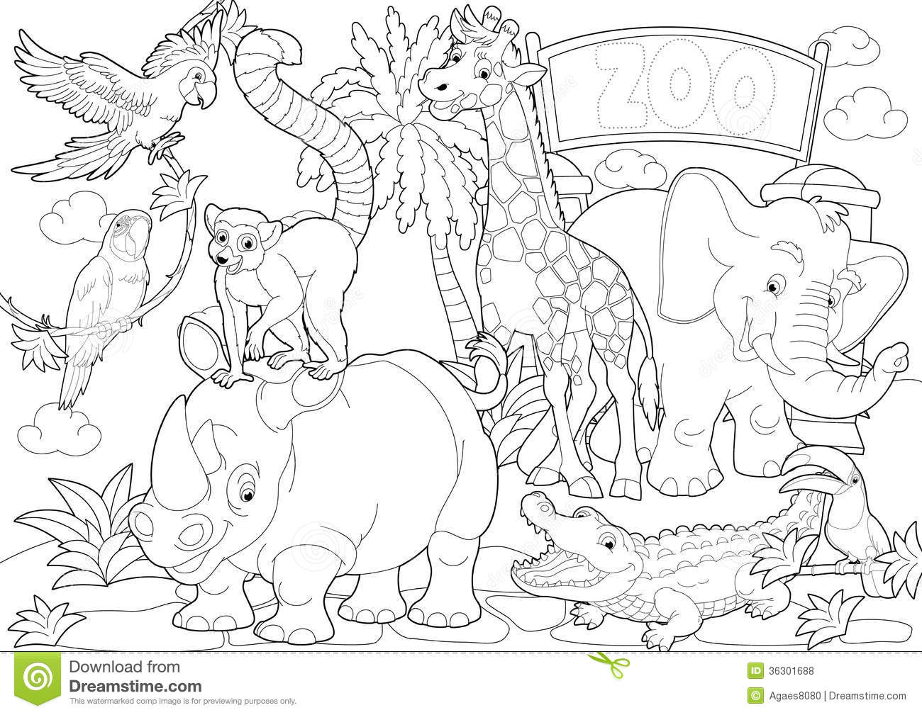 zoo map coloring page australian animals colouring pages australia animals zoo map page coloring