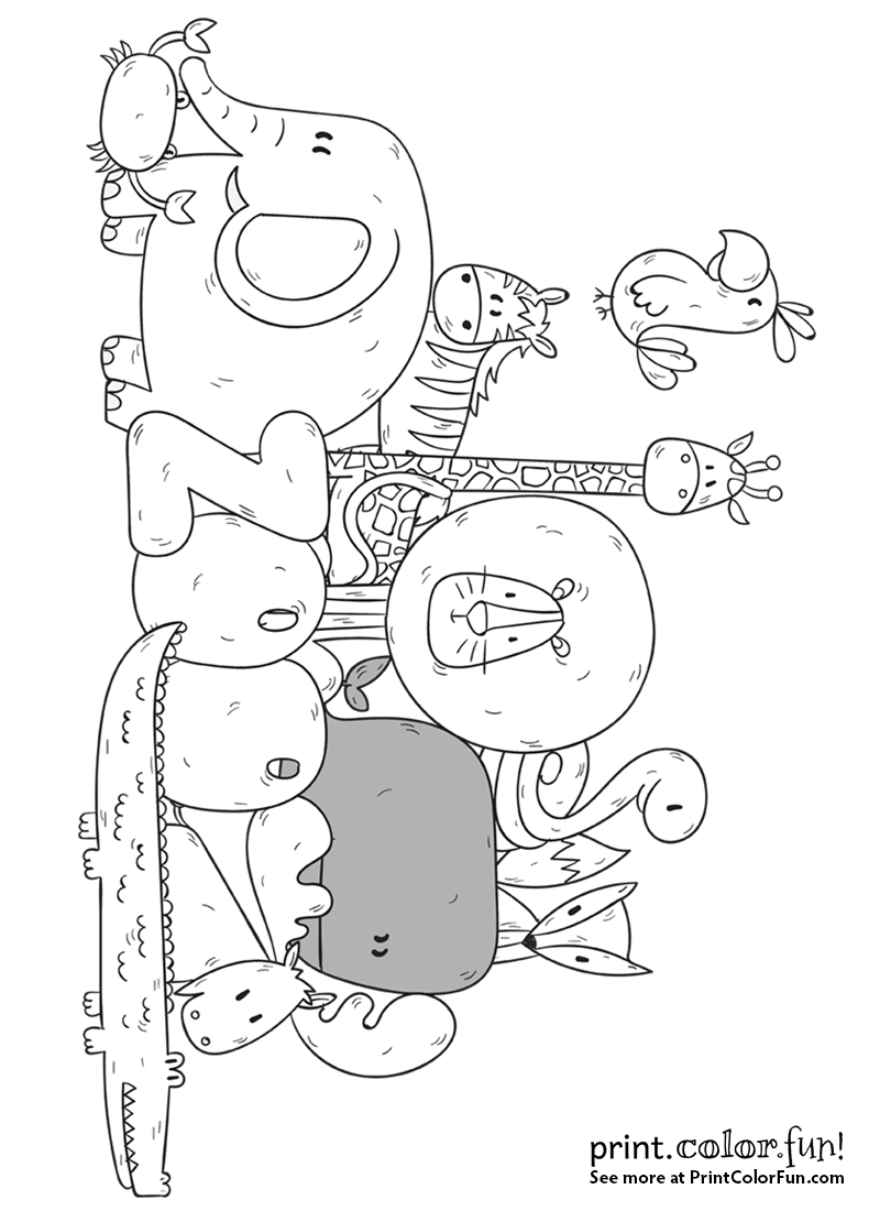 zoo map coloring page zoo animals and the word zoo coloring page print color page coloring map zoo