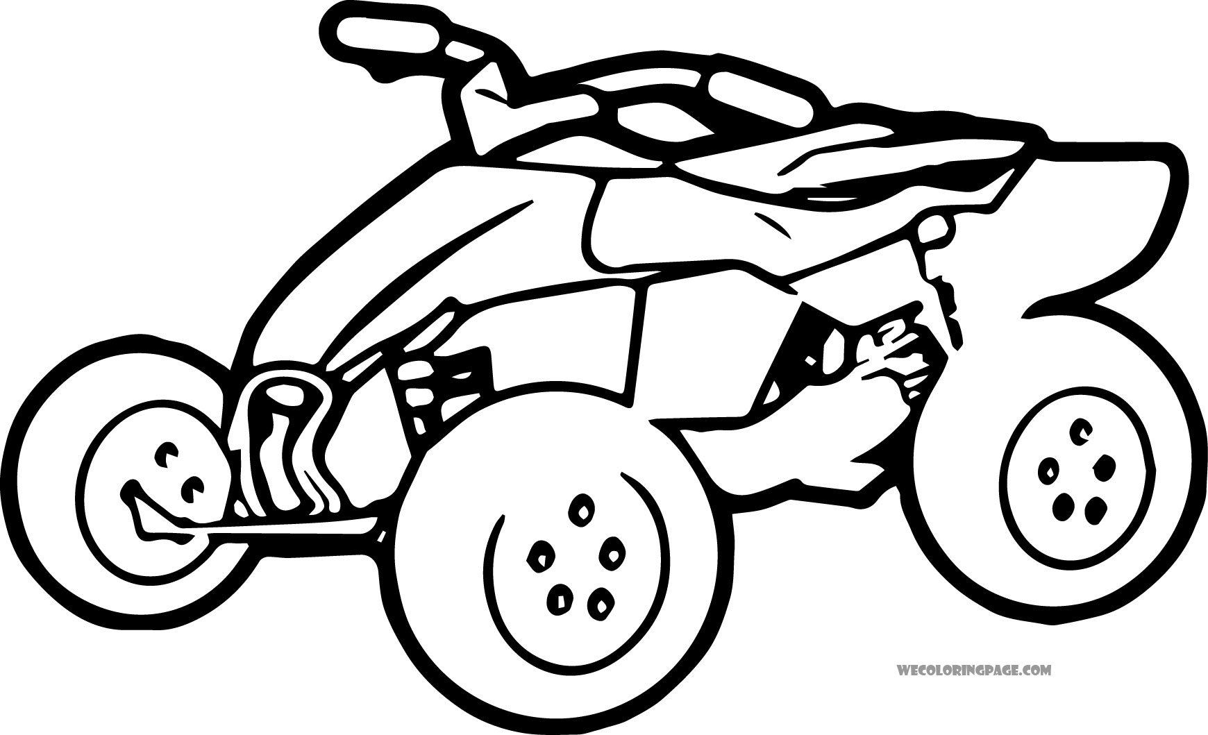 4 wheeler coloring pages 4 wheeler coloring pages at getdrawings free download pages wheeler 4 coloring