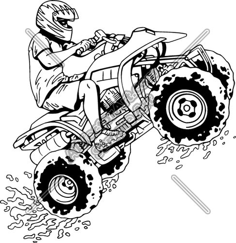 4 wheeler coloring pages four wheeler coloring pages at getcoloringscom free pages wheeler coloring 4