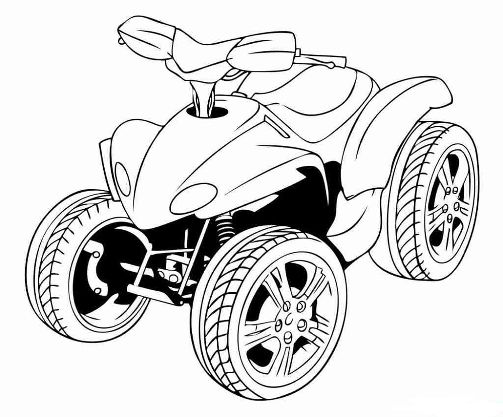 4 wheeler coloring pages four wheeler coloring pages easy 101 worksheets coloring 4 wheeler pages