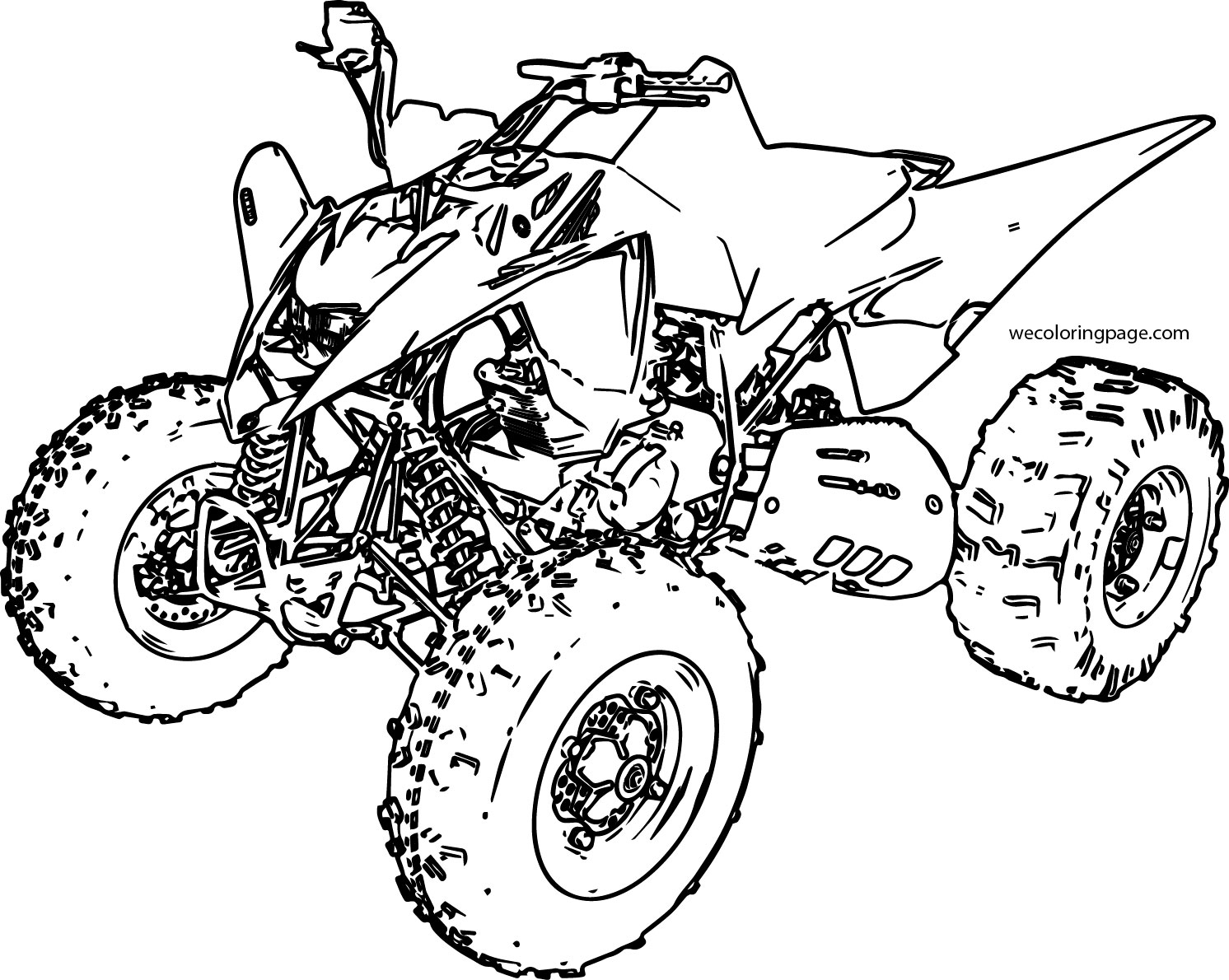 4 wheeler coloring pages four wheeler coloring pages free printable coloring 4 coloring wheeler pages