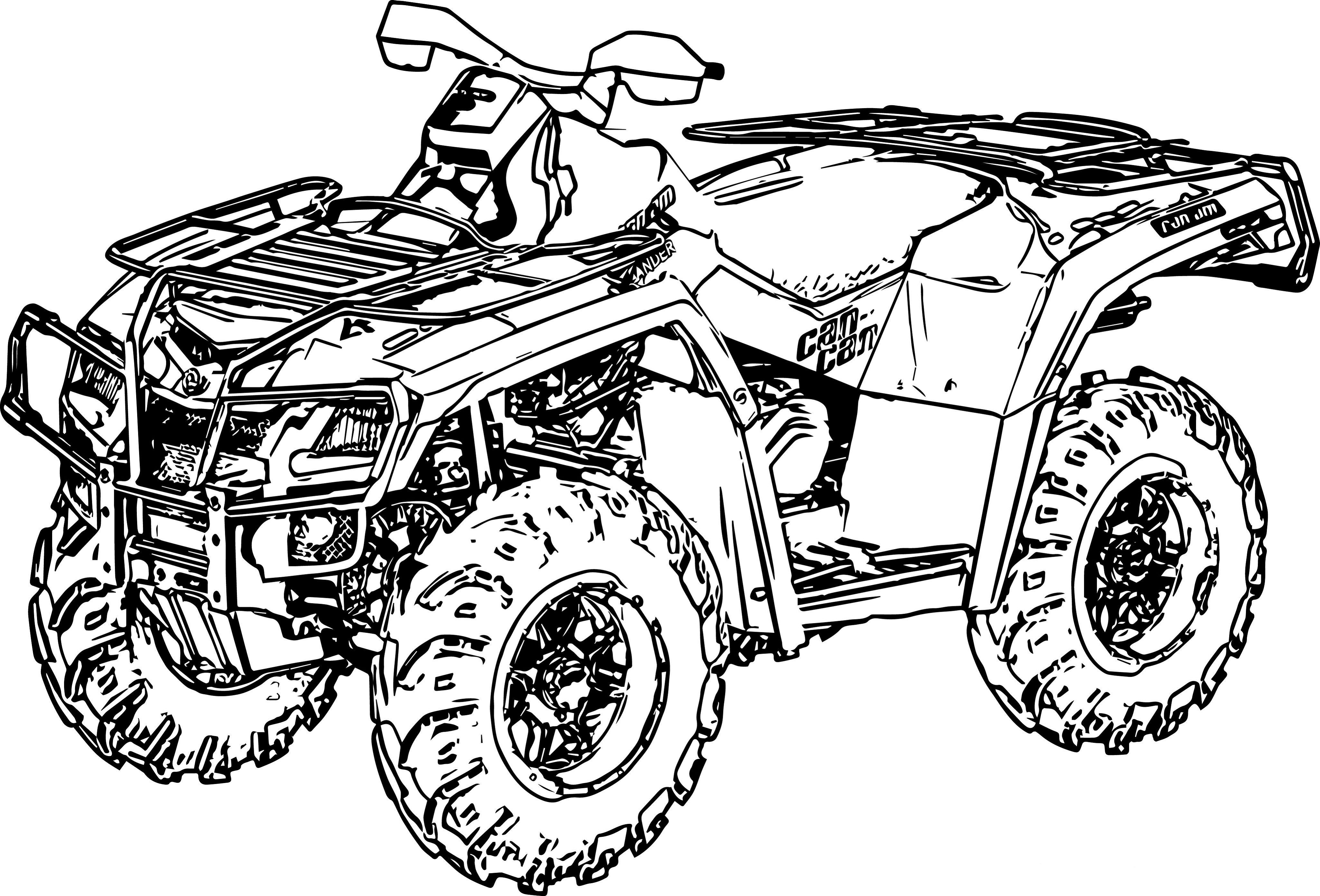 4 wheeler coloring pages four wheeler coloring pages k5 worksheets coloring wheeler pages 4