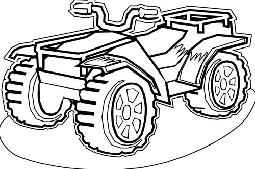 4 wheeler coloring pages four wheeler coloring pages k5 worksheets wheeler coloring 4 pages