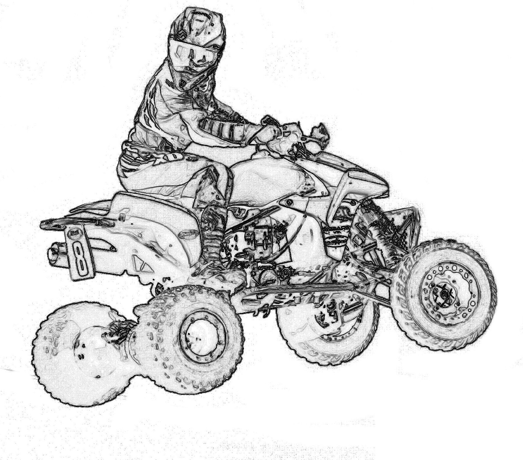4 wheeler coloring pages rzr coloring pages at getcoloringscom free printable pages 4 coloring wheeler