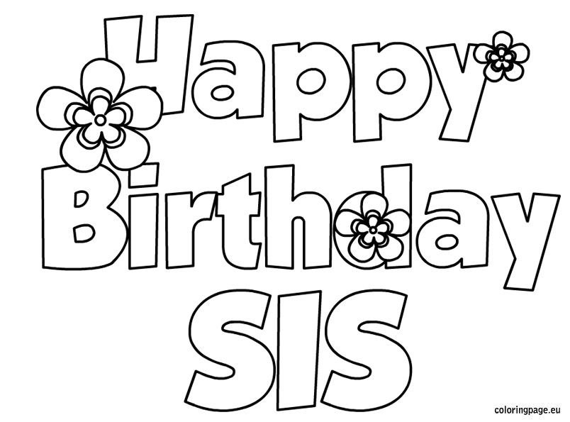 40th birthday coloring pages 101 best happy birthday coloring page39s images 40th birthday pages coloring