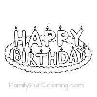 40th birthday coloring pages 40th birthday coloring pages coloring birthday pages 40th