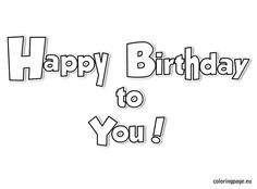 40th birthday coloring pages happy birthday coloring page coloring page birthday 40th pages coloring