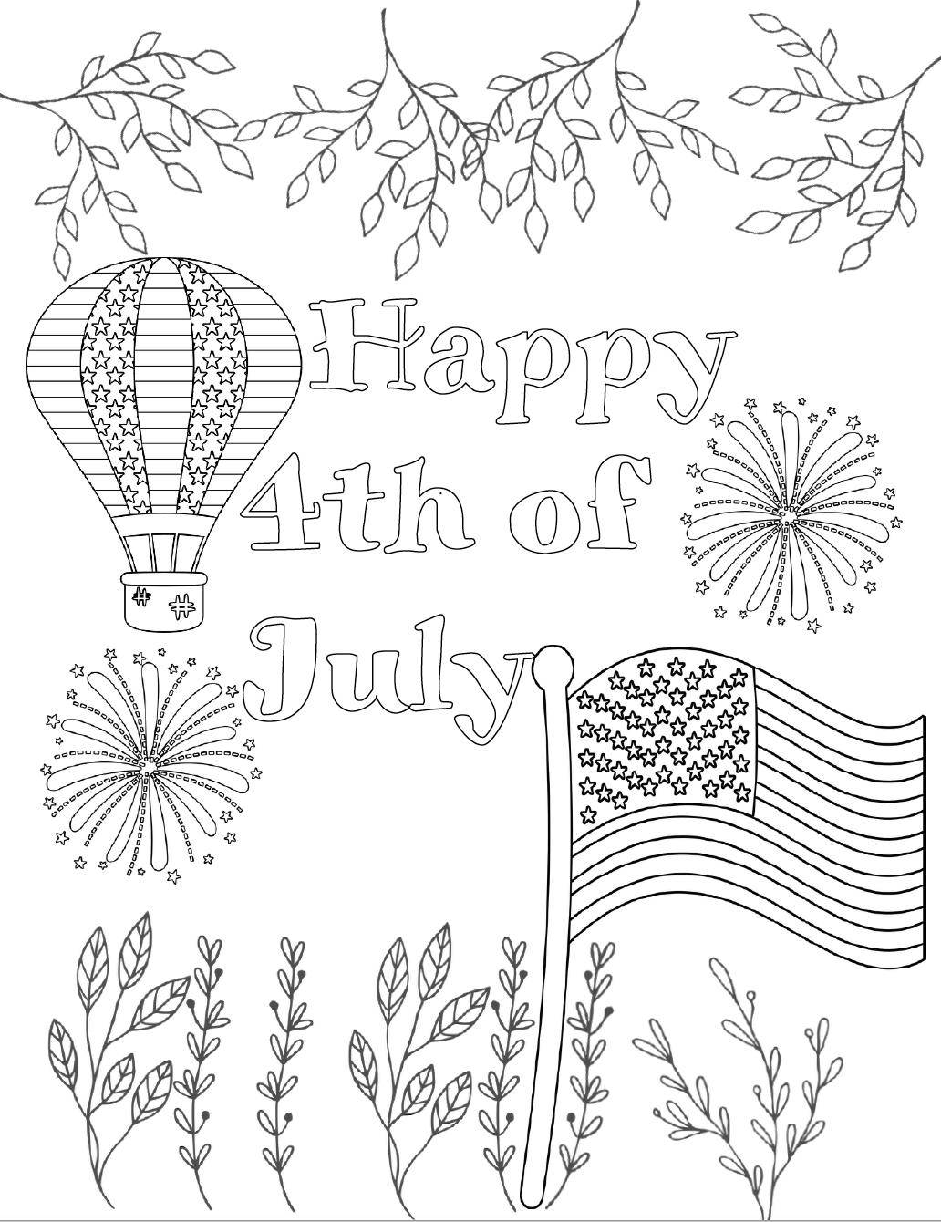 4th of july coloring pages 4th of july coloring pages to print at home kids activities coloring of pages 4th july