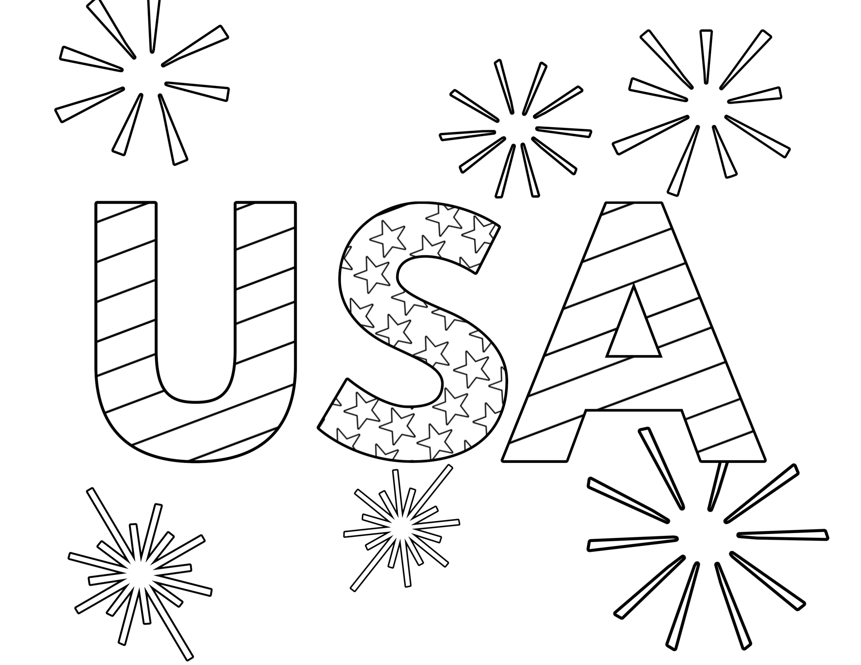 4th of july coloring pages free easy to print 4th of july coloring pages tulamama of pages 4th coloring july