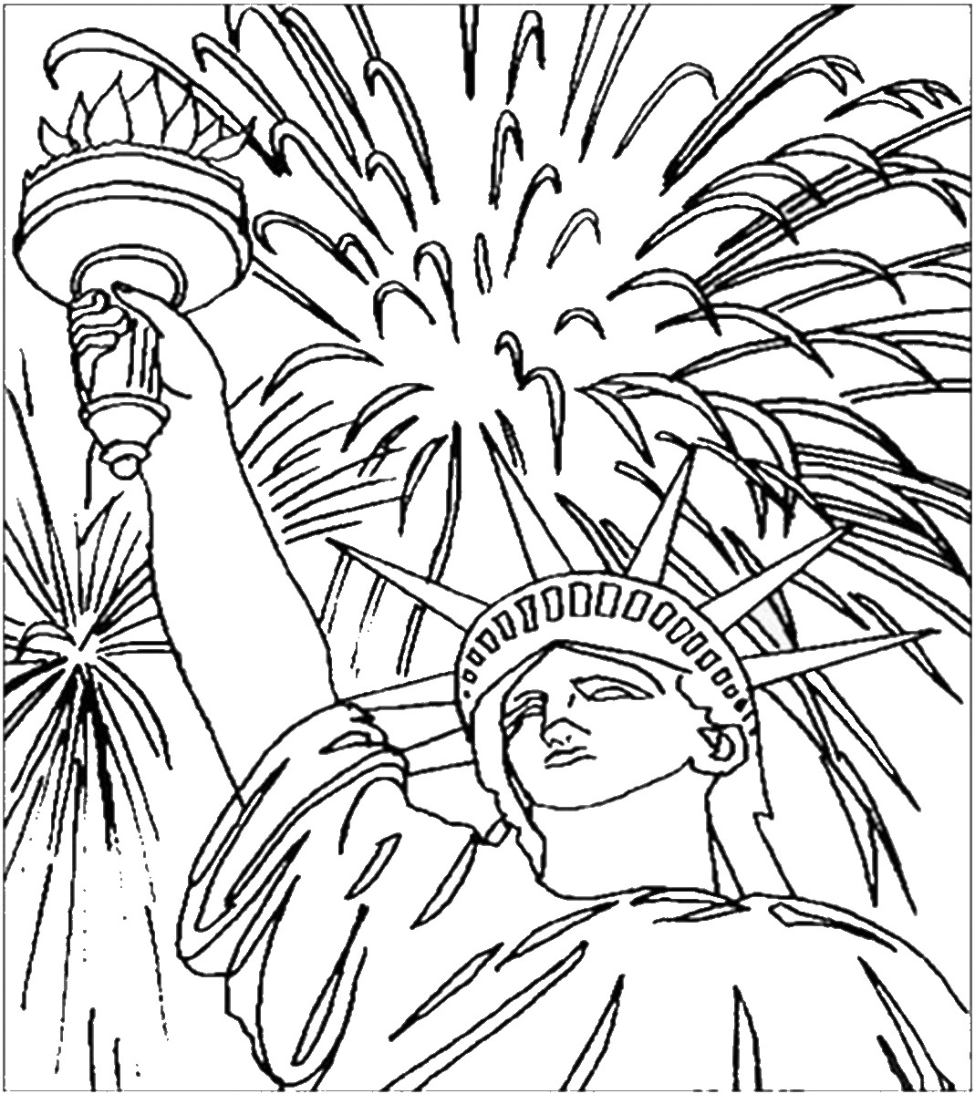 4th of july coloring pages free printable 4th of july coloring pages pages coloring 4th july of