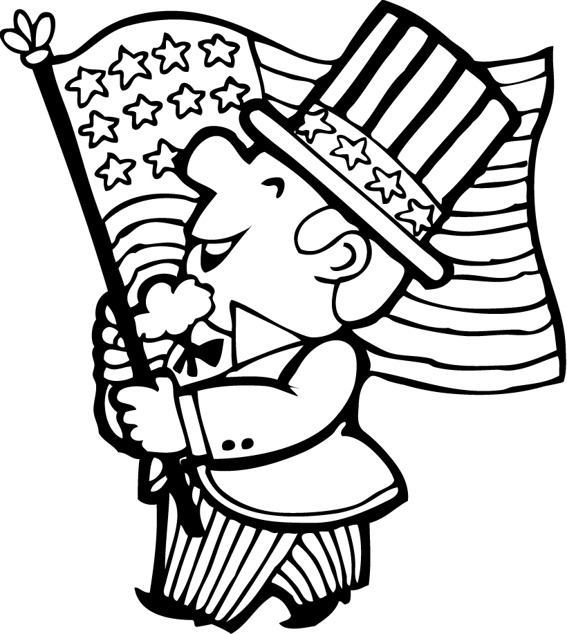 4th of july coloring pages free printable fourth of july coloring pages 4 designs of pages 4th july coloring