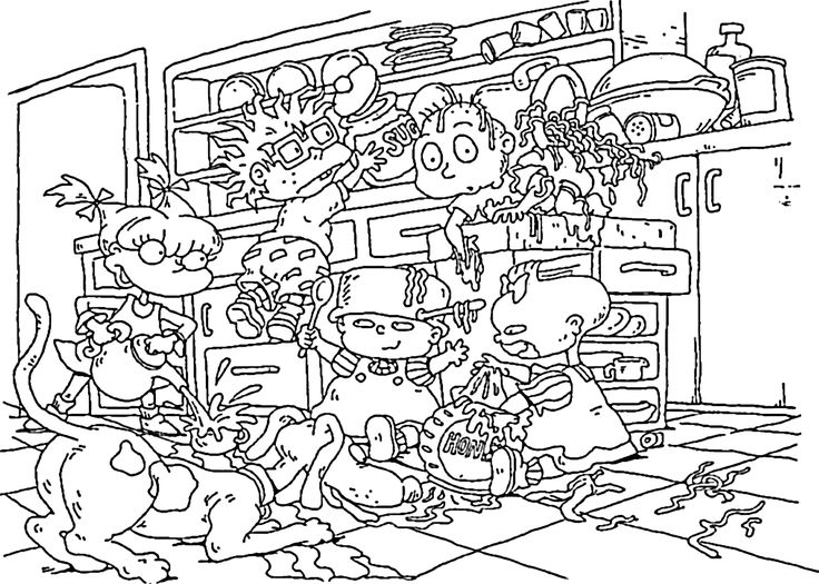 90s coloring sheets 13 best rugrats birthday images on pinterest coloring coloring sheets 90s