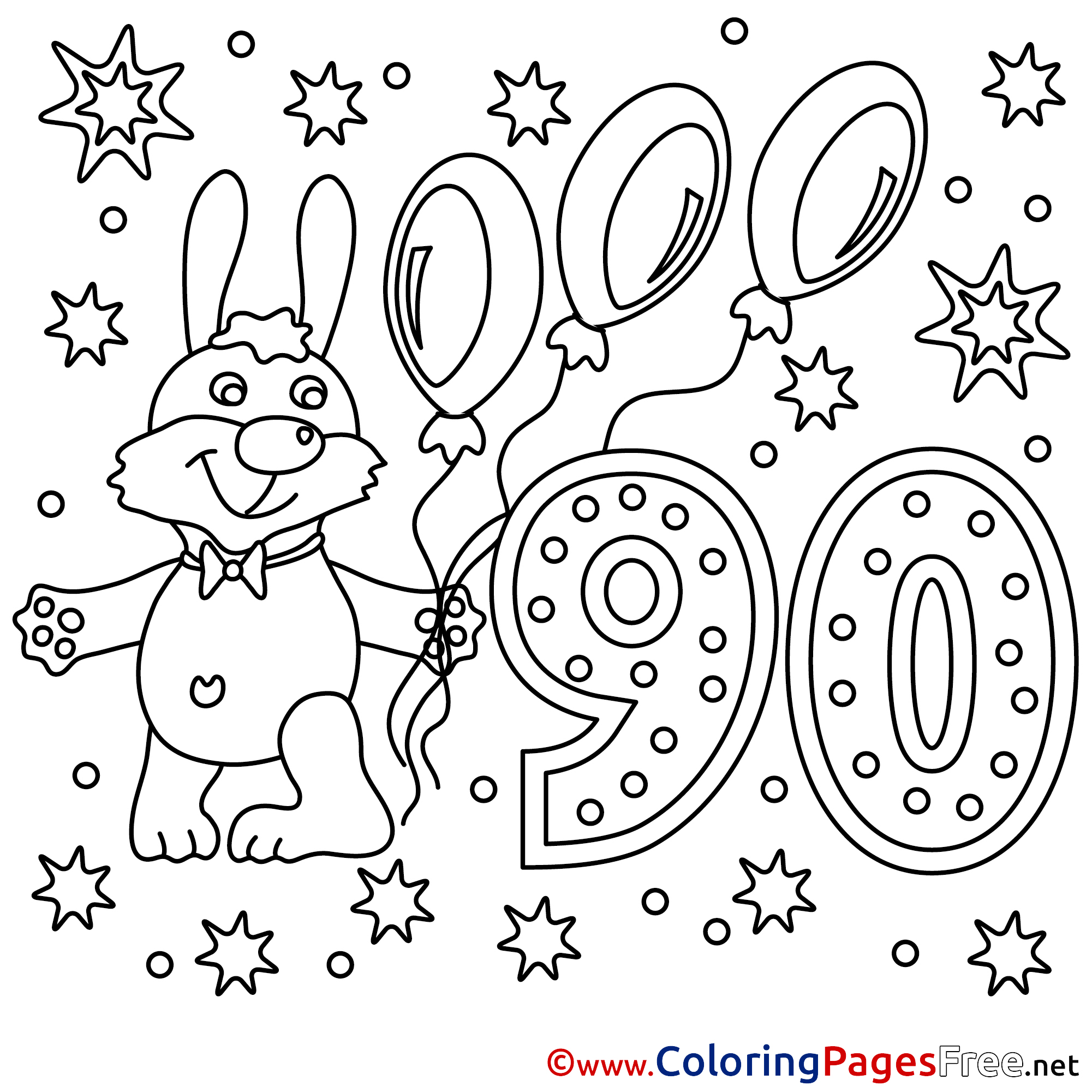 90s coloring sheets 90 years download happy birthday coloring pages sheets coloring 90s