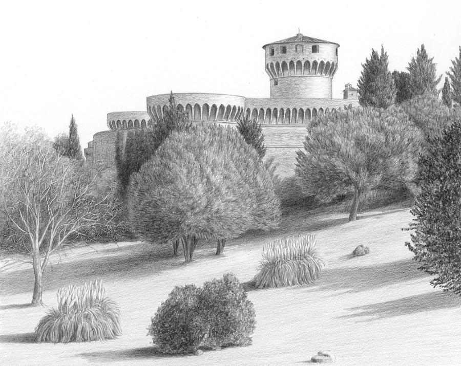 a castle drawing castle at volterra drawing by diane cardaci the sketch hunter castle a drawing