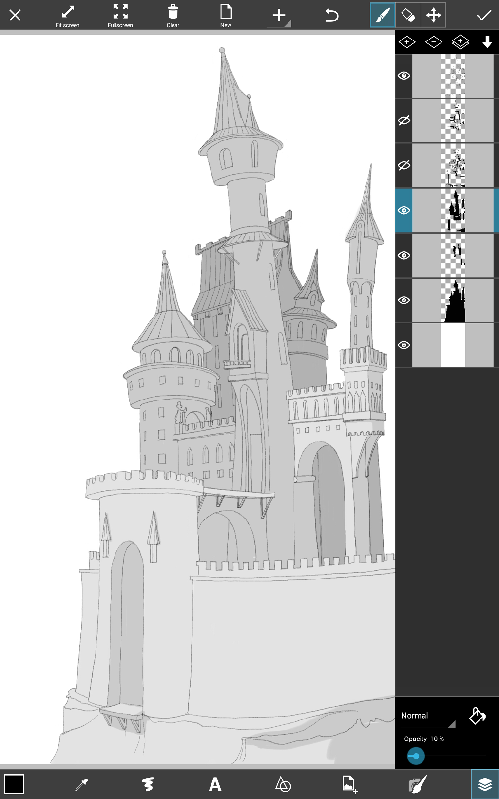 a castle drawing how to draw a castle using picsart drawing tools create a castle drawing
