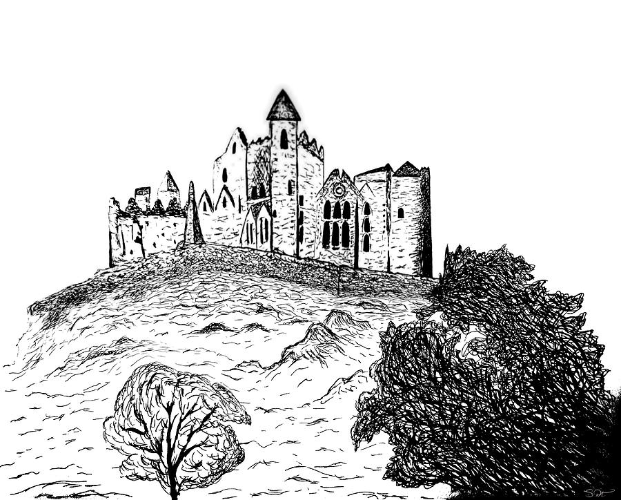 a castle drawing irish castle drawing by abstract angel artist stephen k drawing a castle