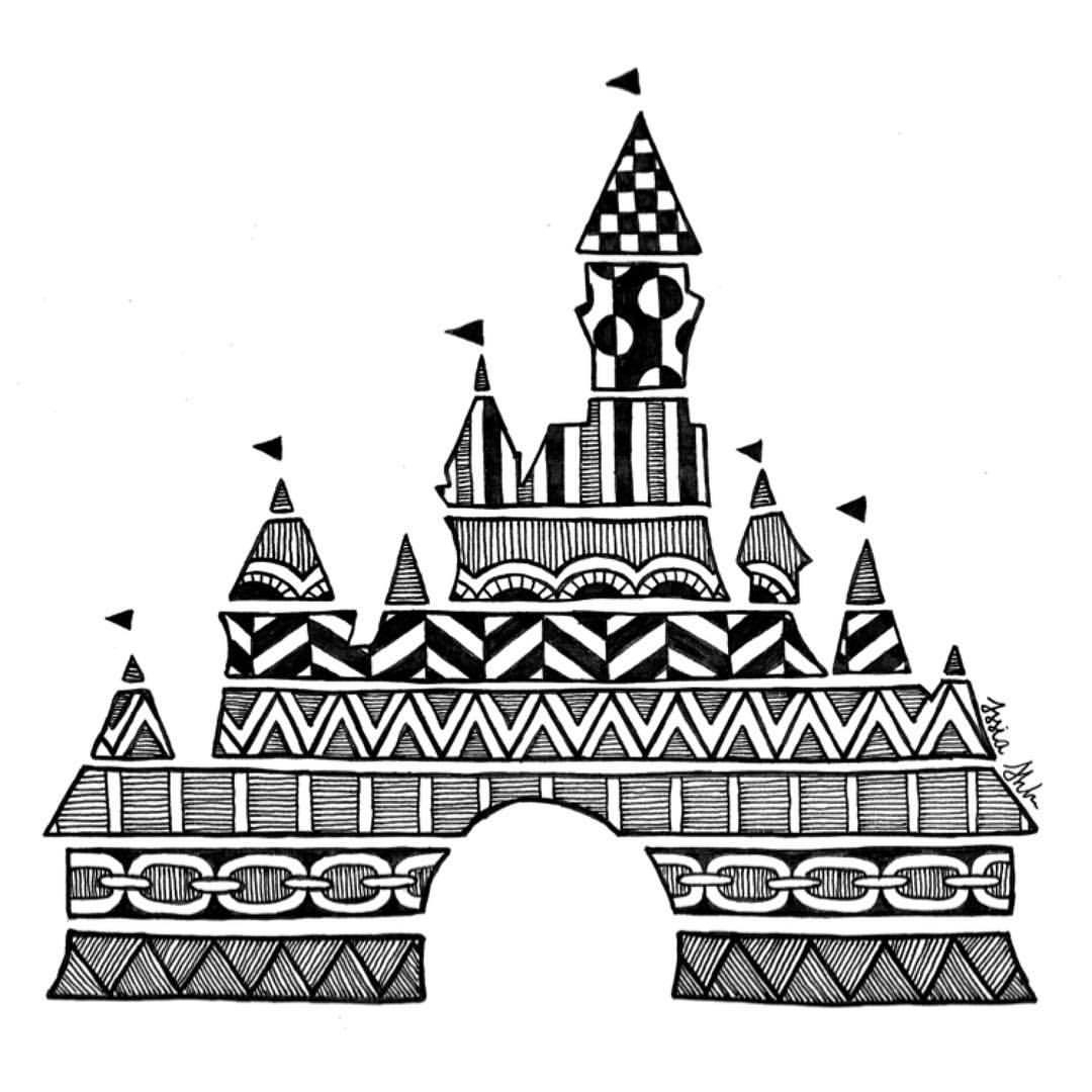 a castle drawing simple disney castle drawing at paintingvalleycom castle a drawing