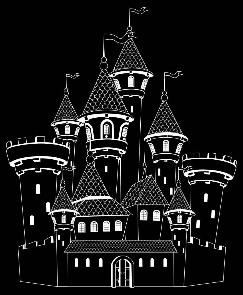 a castle drawing the floating castle drawing by devina gunawan saatchi art castle a drawing