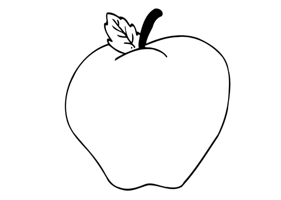 a is for apple coloring page apple coloring pages for preschoolers apple coloring pages page a is apple for coloring