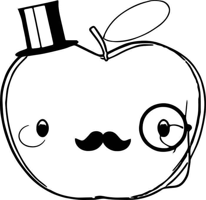 a is for apple coloring page cartoon apple coloring pages from apple coloring pages coloring is a apple page for
