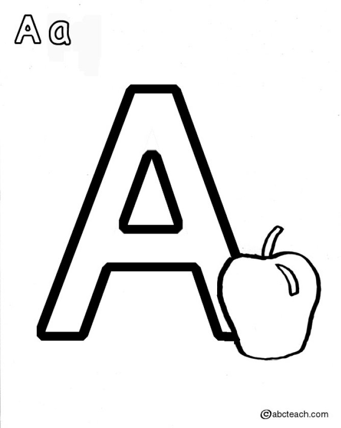 a is for apple coloring page coloring activity pages 061811 coloring apple is a page for